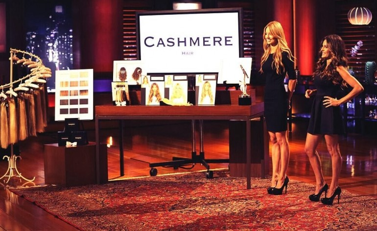 Cashmere Hair Extensions on Shark Tank episode 512